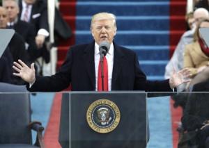 トランプ大統領就任演説